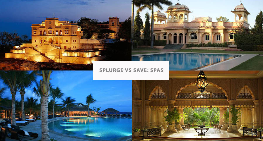 SPLURGE VS SAVE: LUXURY SPAS