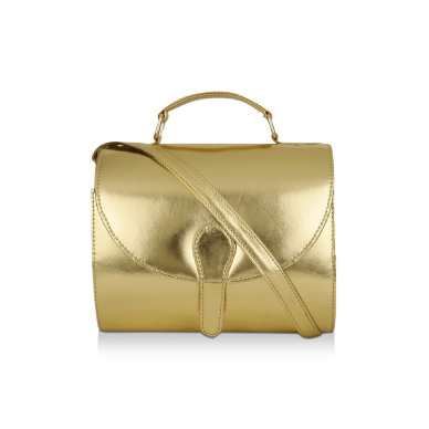 AVEC AMOUR BAGS Metallic Sling Bag