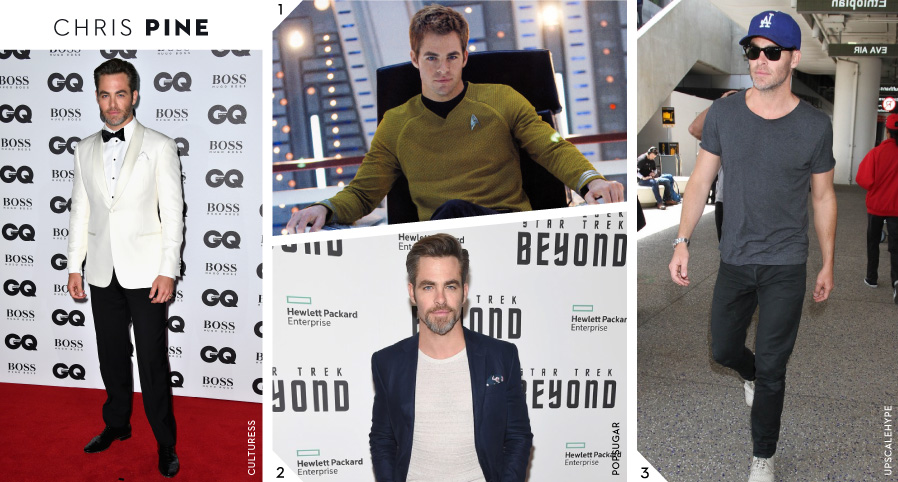 Style Icons: Chris Pine