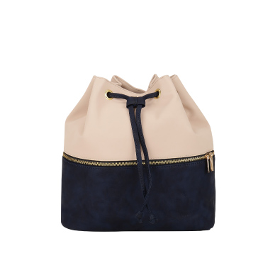 Shop Paris Belle Color Blocked Bucket Backpack