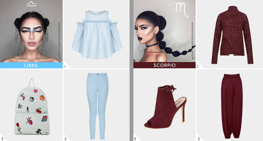 Outfit Colors Based on Zodiac Signs for Women - Koovs