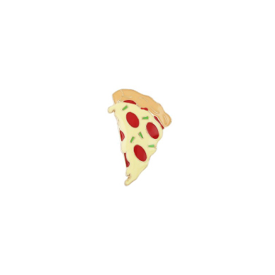 Eristona Pizza Brooch