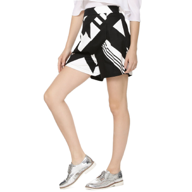 KOOVS Inverted Box Pleat Shorts
