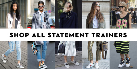 Shop All Statement Trainers