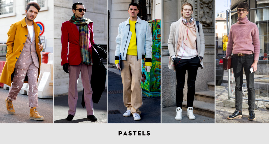 MFW Street Style: Pastels