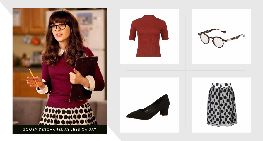 ZOOEY DESCHANEL AS JESSICA DAY
