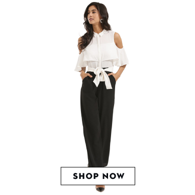 Shop KOOVS jumpsuit