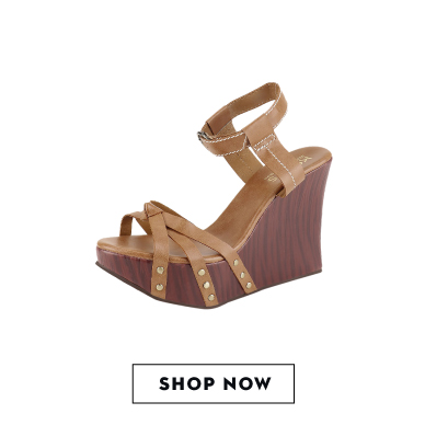 Shop KOOVS two-strap knotted wedges