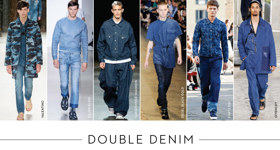 Shop Double Denim