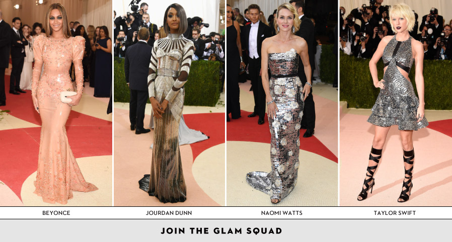 Join the glam squad