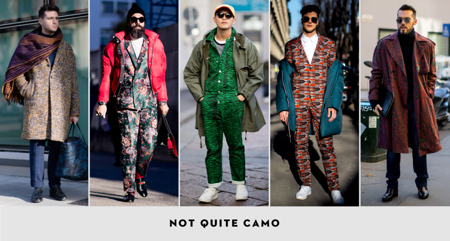 MFW Street Style: Not Quite Camo