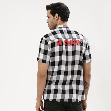 KOOVS CHECK SHIRT