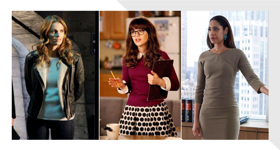 Workwear outfits inspired by TV Shows