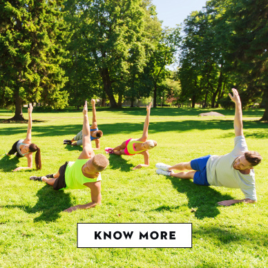 Outdoor Workout Camps