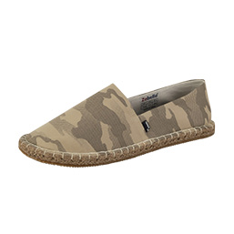 Espadrilles With Camo Upper