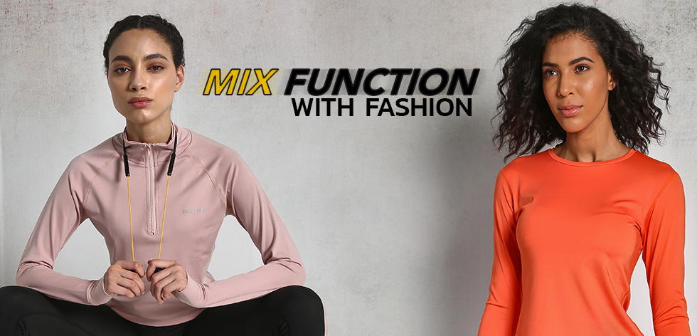 Mix Function With Fashion