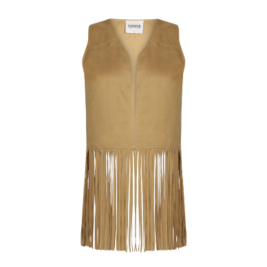 Shop KOOVS fringed jacket