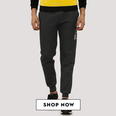 Shop Fila Black Jog Pants