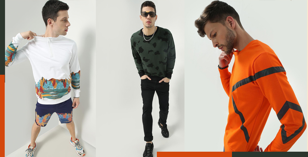 Basic Sweatshirt with standout details