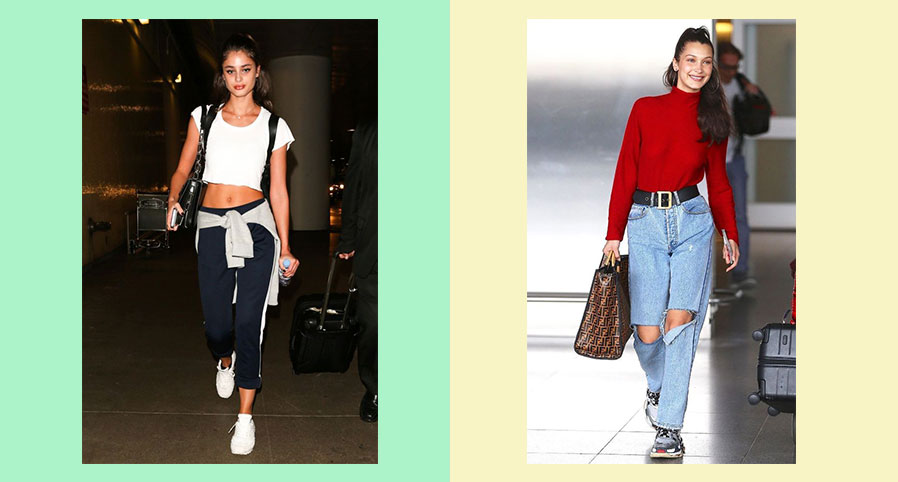 GET THE AIRPORT LOOK