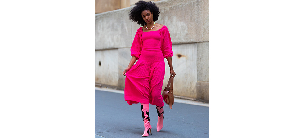 Pink Styles at New York Fashion Week 2020