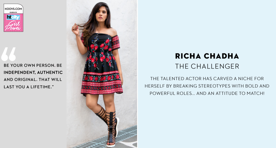 The Challenger: Richa Chadha
