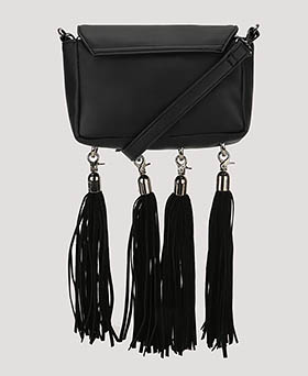 Tassle Detail Cross Body Bag