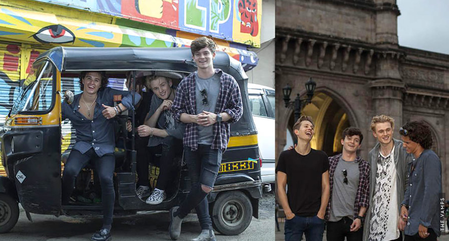 The Vamps Get The Look