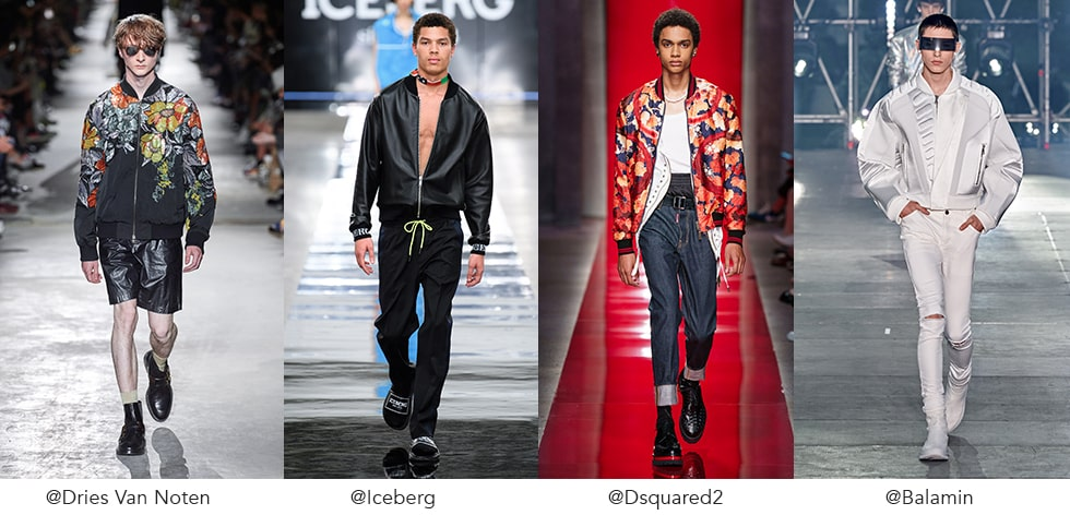 THE RETURN OF THE BOMBER JACKET