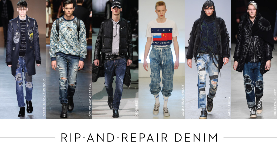 Rip-and-Repair Denim