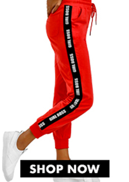 Text Side Tape Joggers