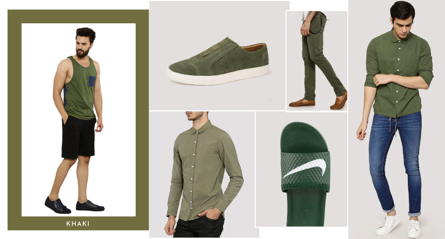 Shades of AW16: Khaki
