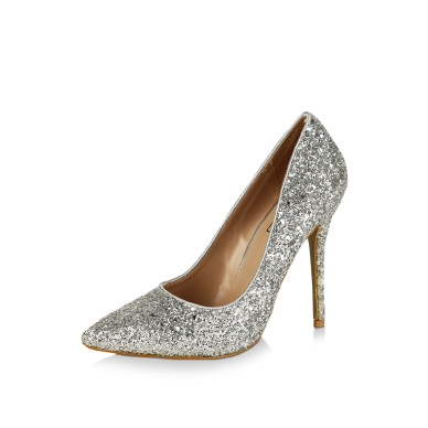 INTOTO Glitter Heeled Sandals