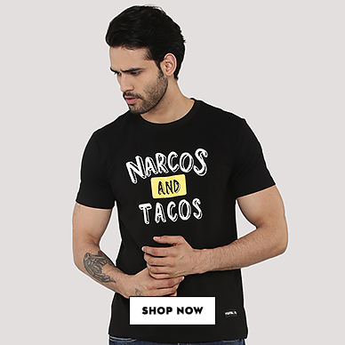 Narcos And Tacos Tee