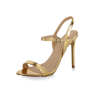 KOOVS Barely There Heeled Sandals